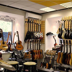Музыкальные магазины Верхозима